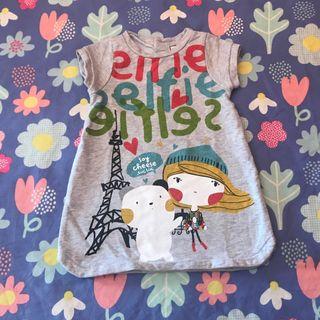 TODO A 3X2!! Vestido invierno Tuc Tuc T 18 meses