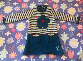 TODO A 3X2!! Vestido Tuc Tuc Talla 18 meses