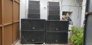 EQUIPO LINE ARRAY 10.000W
