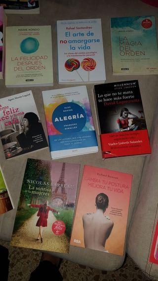 8-10-12 € diferentes precios .libros modernos .