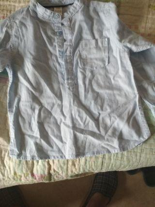camisa de niño de zara de 18 meses a 24 meses