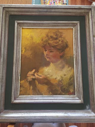 Retrato femenino de LUISSON