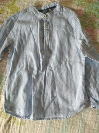 camisa de niño de zara de dos a tres años