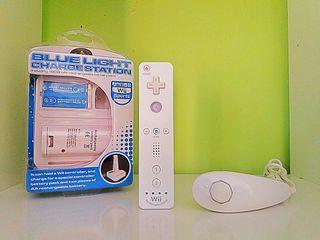 Mando Wii + Nunchuck