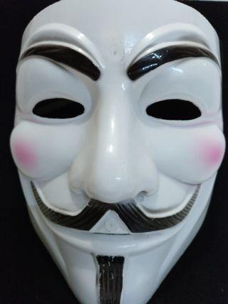 Máscara anonymous.