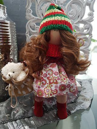 muñeca rusa de navidad