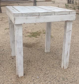 Mesas madera para restaurante, jardin, casa