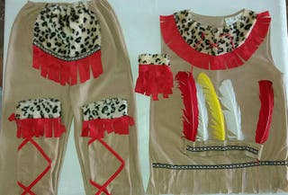 Disfraz indio 9-10 años