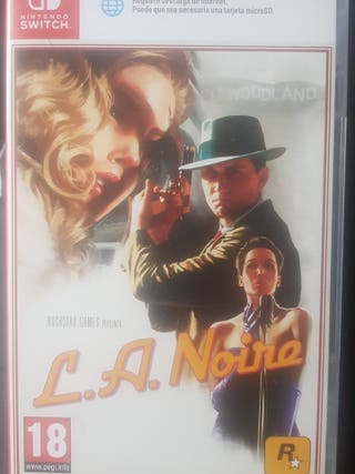 LA NOIRE NINTENDO SWITCH