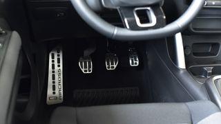 Acero inoxidable apoyapies reposa pies Range Rover Evoque