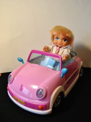 Muñeca Barriguitas + coche Famosa