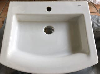Lavabo sobre-encimera modelo Hall Roca (II)