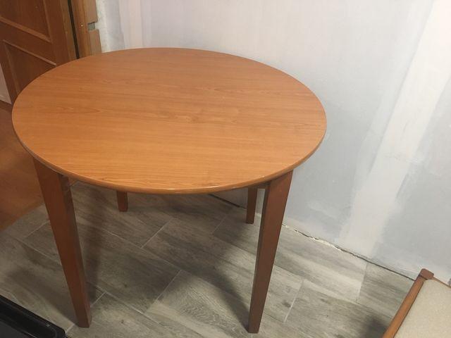 Mesa redonda cocina de segunda mano por 40 € en Valencia en WALLAPOP