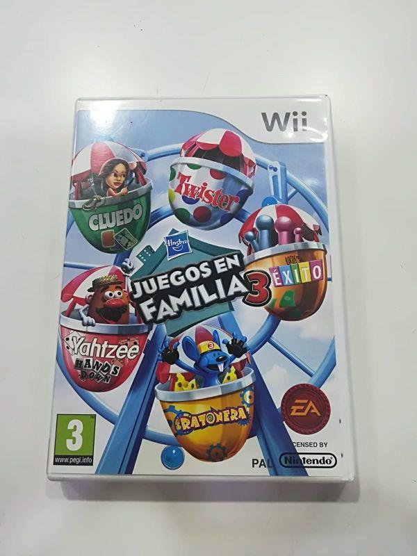 Juego Wii Juegos En Familia 3 De Segunda Mano Por 15 En Alfafar
