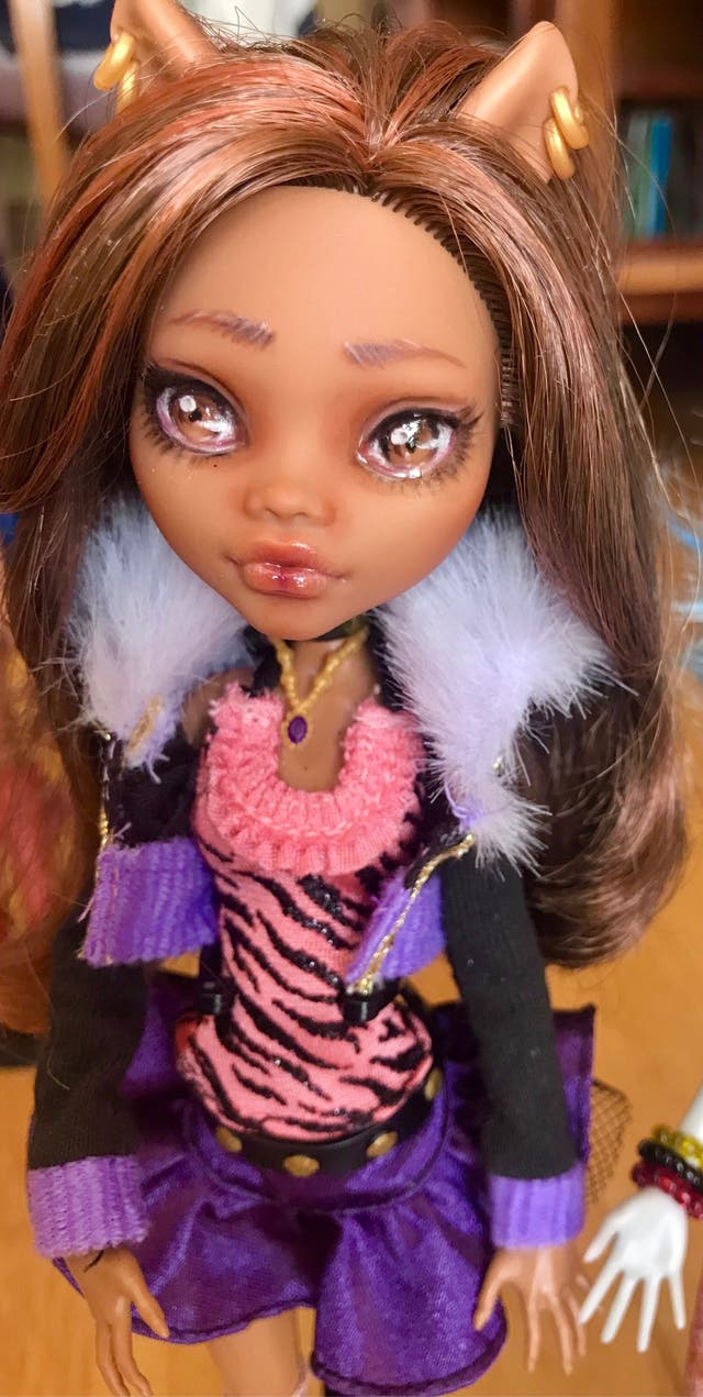Monster High repaint