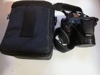 Cámara Nikon Coolpix L340 + Funda