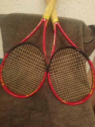 raqueta de tenis volki