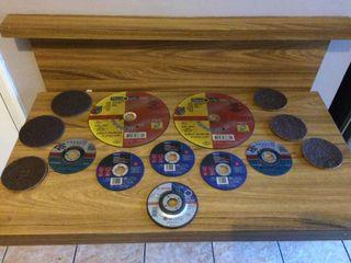 Grinding discs cutting discs etc