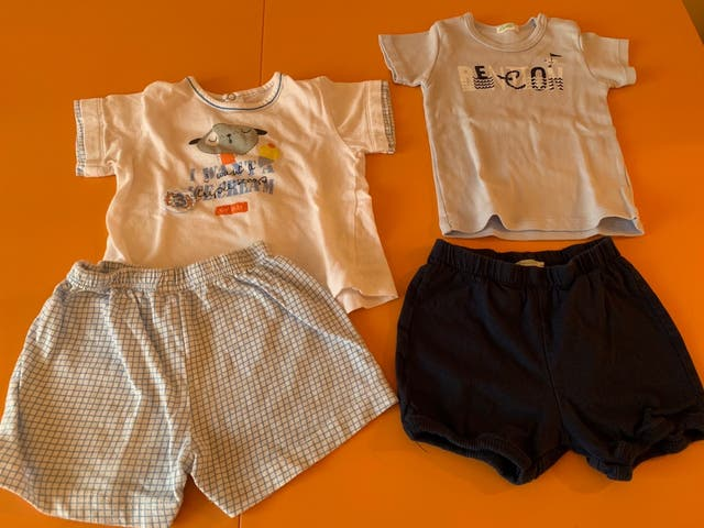 Ropa bebé 6-9 meses de segunda mano por 8 € en Sentmenat en WALLAPOP a877626ead76