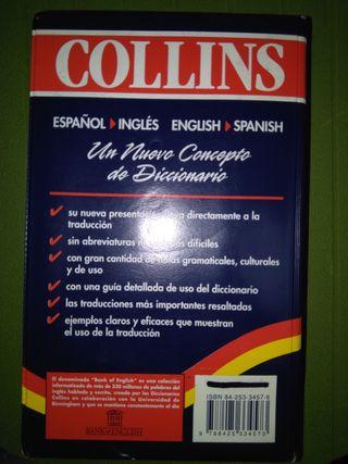 DICCIONARIO COLLINS INGLÉS SIN USAR
