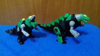 2 robots-dinosaurios Mcdonalds