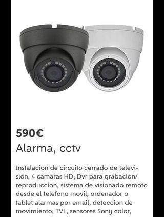 Cámara seguridad y vídeo vigilancia. 4 unidades