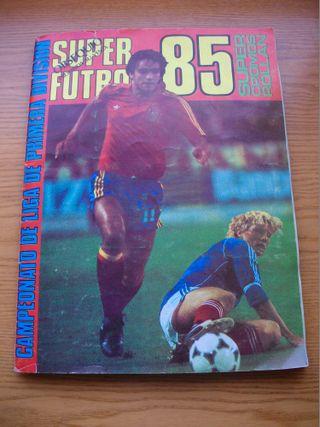 ALBUM SUPER FUTBOL 85 ROLLAN CON 324 CROMOS
