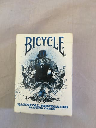 Baraja de cartas bicycle en perfecto estado
