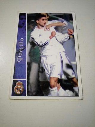 Cromo Mundicromo Liga 2003 Portillo Real Madrid