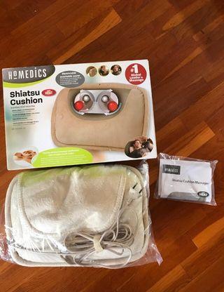 35 Cojin masaje cervicales shiatsu nuevo +caja