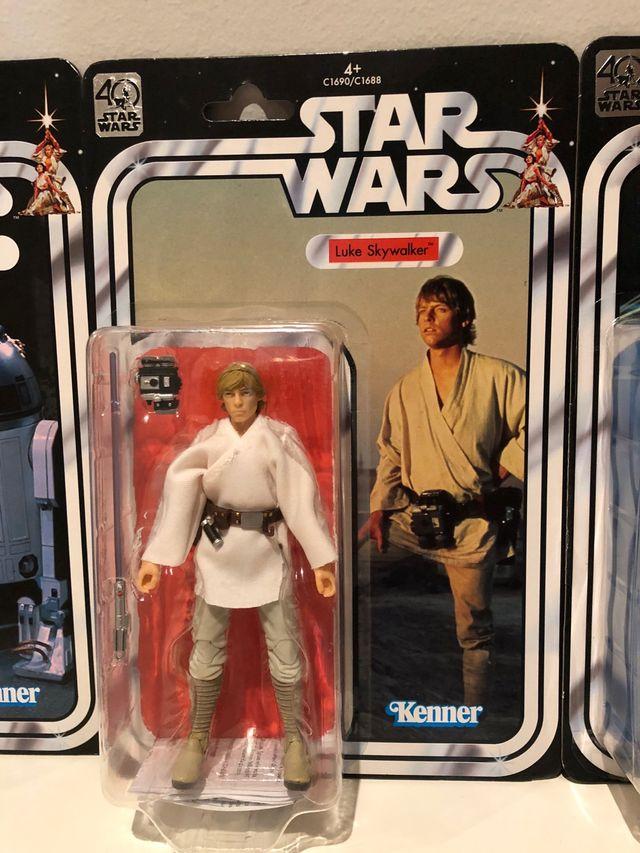 Figura Luke Skywalker Star Wars Kenner