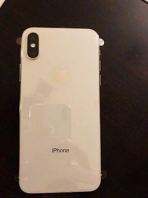 Apple iPhone X - 256GB - Silver (Unlocked) A1865 (