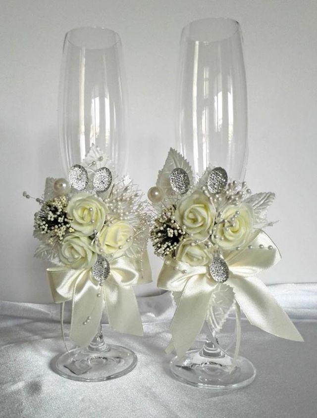 copas decoradas para boda de segunda mano por 35 en madrid en wallapop. Black Bedroom Furniture Sets. Home Design Ideas