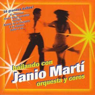 CD BAILANDO CON JANIO MARTÍ ORQUESTA Y COROS