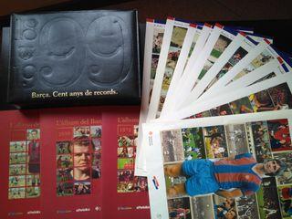 álbumes+caja+ láminas