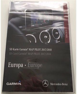 Mercedes Garmin Map pilot sd
