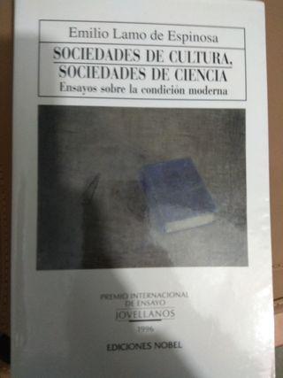 Sociedades de cultura, sociedades de ciencia