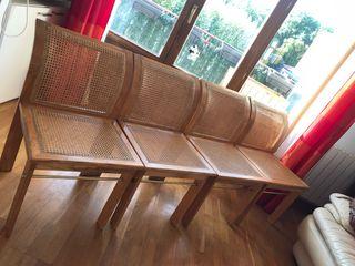 Conjunto de 4 sillas diseño