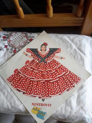 Antiguo cartel publicitario NESTROVIT, Sevilla