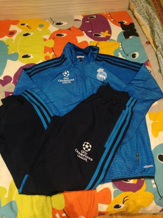 Chandal Adidas Real Madrid Champions League