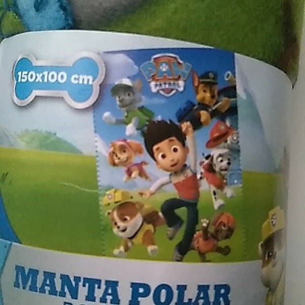 MANTA POLAR PATRULLA CANINA