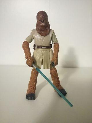Star Wars figura custom wookie jedi