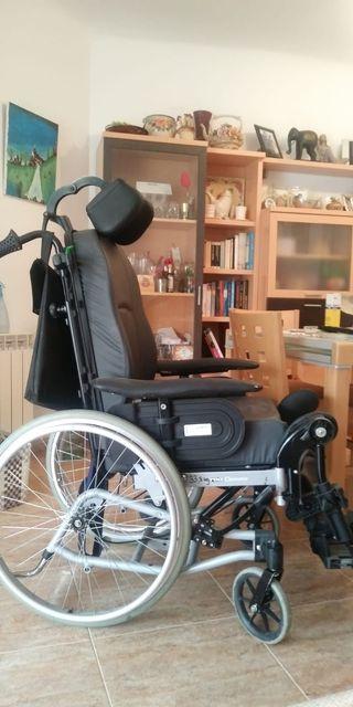 Sillas de ruedas basculantes de segunda mano en wallapop - Reposacabezas silla de ruedas ...