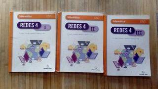 libros informática, Redes I, II y III