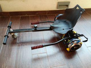 Hoverboard con silla de segunda mano en wallapop - Silla para hoverboard ...