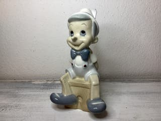Pinocho Walt Disney. Porcelana vintage