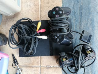 PS2 Sony, versión fino. Con cables. Precios abajo