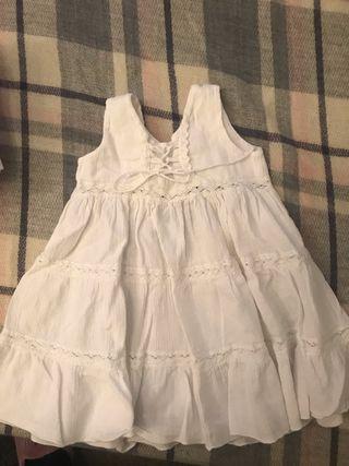 Vestido bebé nina