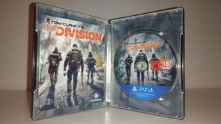 the division,caja metalica ps4