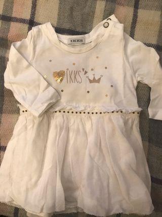 Vestido bebé niña Ikks